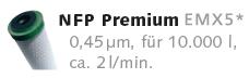 Filterpatrone Carbonit EM Premium 5